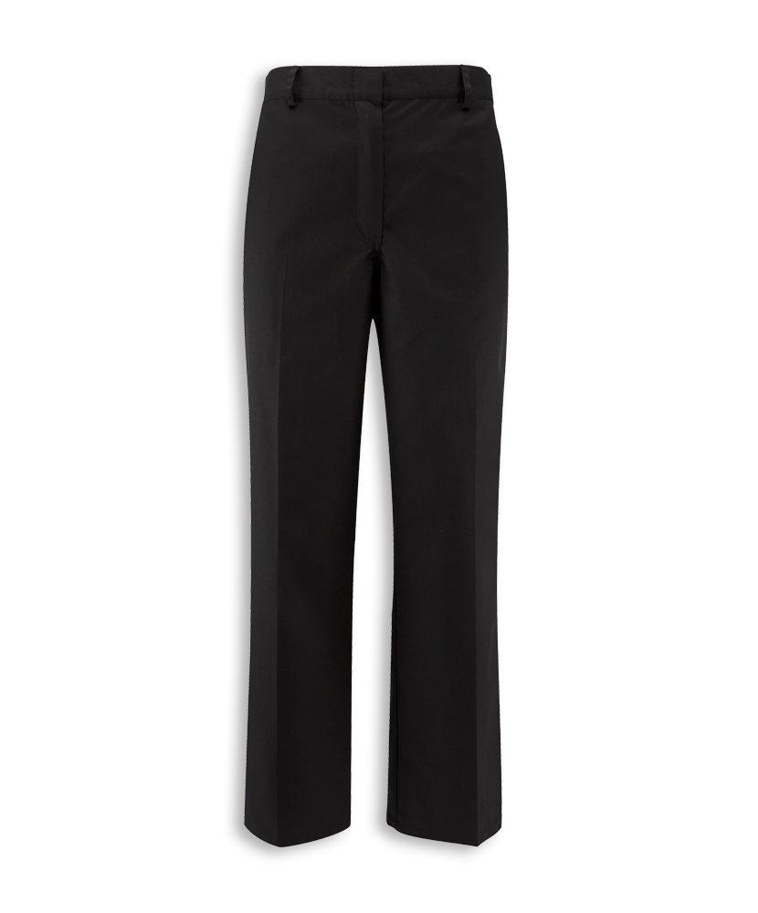 Alexandra STC-NF27BK-12A - Pantalón de cintura elástica oculto para mujer, extra alto, 67% poliéster, 33% algodón, talla 12, color negro