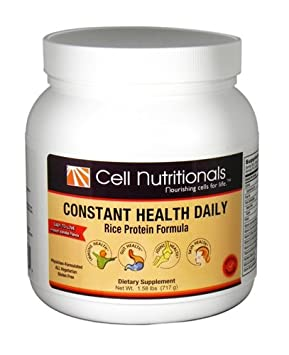 Constant Health Daily Powdered Rice Protein Formula for Immune, Gut, Joint, and Eye Health