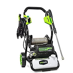 Greenworks Pro 2000 PSI 1.2-Gallon-GPM 13 Amp Cold Water Electric Pressure Washer