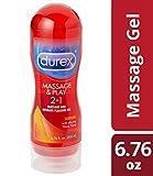 Durex Massage & Play 2 in 1 Lubricant Sensual, 6.76 oz