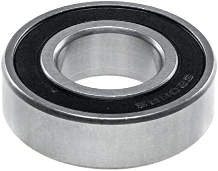 WJB RB6205-RS RB6205-RS-Rear Wheel Ball Bearing-Cross Reference SKF 6205-RSJ National 205-F//Timken 205F