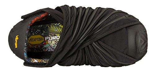 Vibram Original Mujer Black Zapatillas Black Negro Vibram para Fivefingers Furoshiki 5xY11R