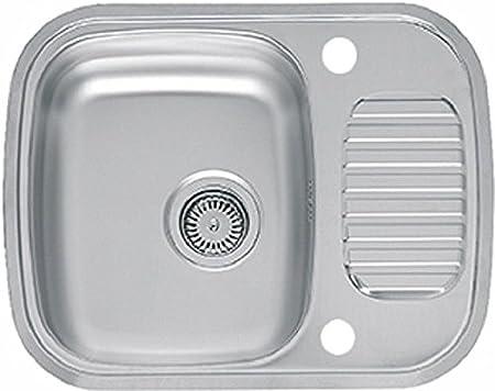 Reginox RL226S Regidrain Single Bowl Sink Compact Drainer Stainless Steel Amazon.co.uk Kitchen u0026 Home  sc 1 st  Amazon UK & Reginox RL226S Regidrain Single Bowl Sink Compact Drainer Stainless ...