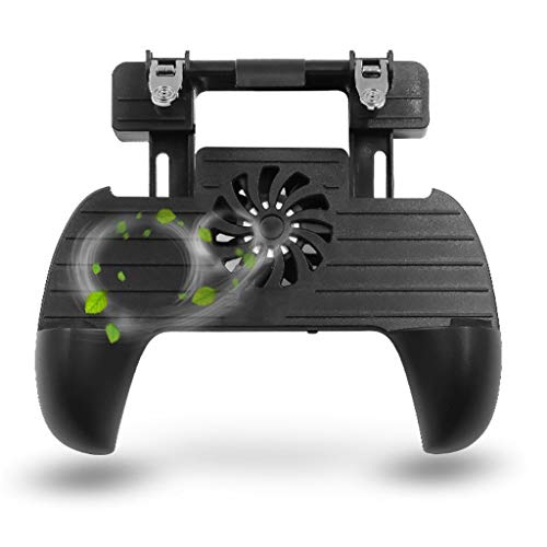 Meidexian888 Gamepad Game Controller Joystick for PUBG Android iOS, Built-in Cooling Fan