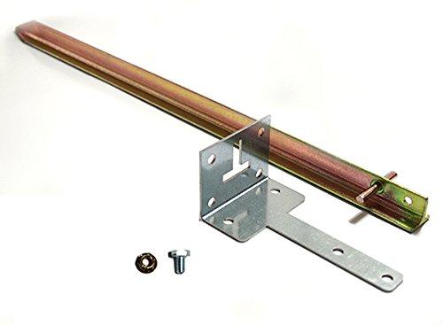 Treibhaus Befestigungs-Set für Montage auf Naturboden ohne Alu-Fundament für Gartentec Gewächshaus Typ F5 bis F6