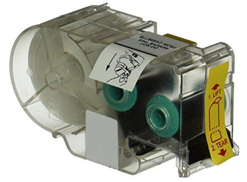 - Panduit T100X000C1C-BK P1 Cassette Continuous Tape Label, Nylon Cloth, Blue/White