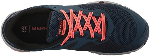 Merrell Womens Agility Charge Flex Trail Runner Navy