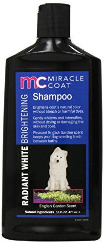 Miracle Coat Radiant White Brightening Shampoo 16 oz.