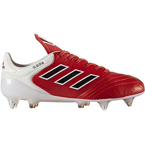 adidas Performance Mens Copa 17.1 Soft Ground Soccer Boots - Red 9.5US