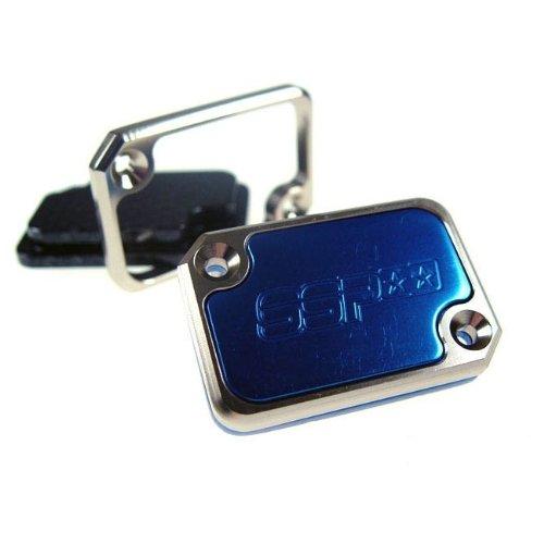 Cilindro freno copertura Stage6 per MBK Nitro/YAMAHA AEROX/Benelli, Blu Anodizzato UNKNOWN