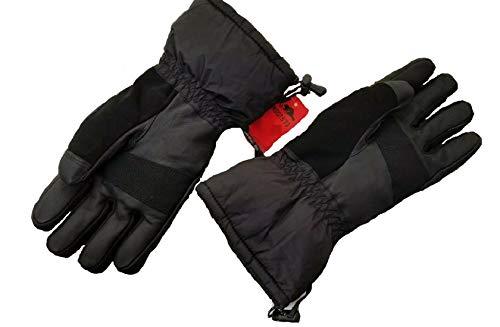 (Roots 73 Men's Hipora Arctic Ski Snowboard Gloves Black Thermolite)