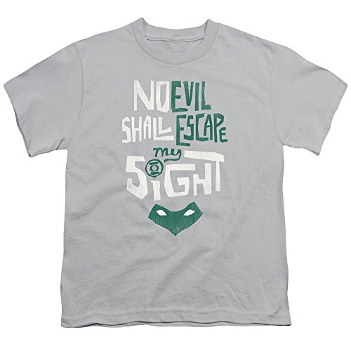 Sinestro Child Mask (Green Lantern DC Comics No Evil Shall Escape My Sight Ring & Mask Big Boys Tee)