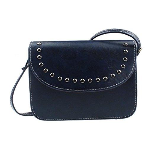 Fourre classique Bleu Fami Bag New Hobo Messenger Mode cuir en tout féminine a6ZZq0YwWx