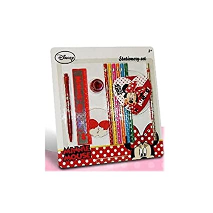 Set De Coloriage Minnie De Disney 15 Pces Amazon Fr Jeux Et Jouets
