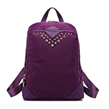 Women's Fashion Rivert Durable Lightweight Backpack Bag