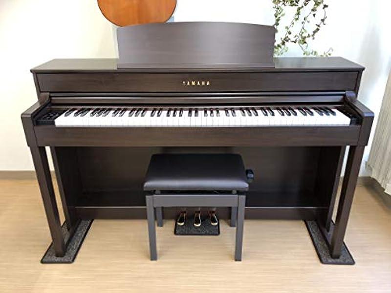 【 3Points Mat 】 전자 피아노 전용 매트 3PM-1 3점깔개 신타입 방음/방진/방상처 (체리/CH)