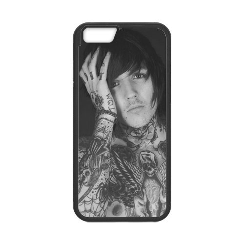 Fayruz- Personalized Protective Hard Textured Rubber Coated Cell Phone Case Cover Compatible with iPhone 6 & iPhone 6S - Bring Me The Horizon F-i5G648