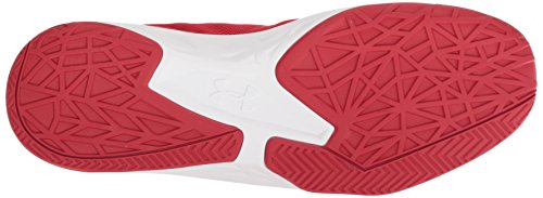 Mid Baloncesto Ua Armour Hombre De white Para Zapatos red Jet Rojo Under wYtFw