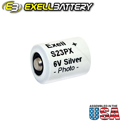 Exell Battery S23PX Replaces Dantona V23PX, Duracell PX23, ADRY4040