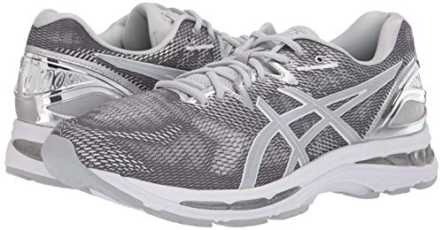 ASICS Mens Fitness/Cross-Training Trail Running Shoe, Carbon/Silver/White, 7 Medium US by ASICS (Image #5)
