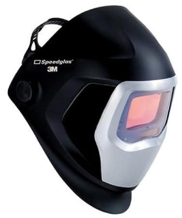 Model 06-0100-10SW Shades 5 8-13 3M Speedglas Welding Helmet 9100 with Standard Size Auto-Darkening Filter 9100V