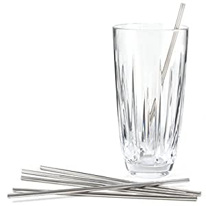 Outset Stainless Steel Cocktail Stirrers, Set of 6