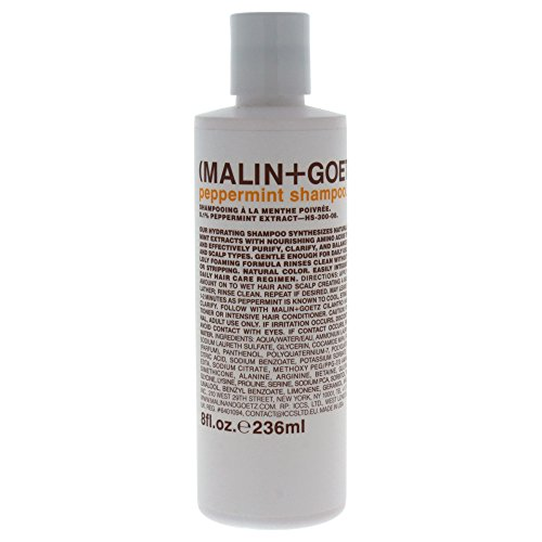 Malin + Goetz Peppermint Shampoo, 8 Fl Oz (Able Shampoo Peppermint)