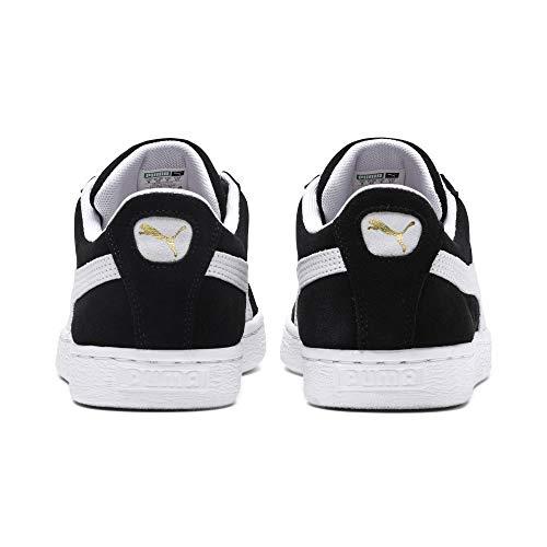Puma Unisex Suede Classic Erwachsene Sneakers white Black rrEwq