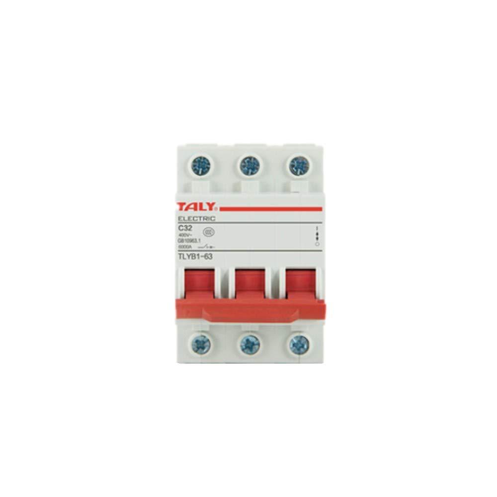 OIASD, Interrupteur pneumatique, Dispositif de Protection Contre Les fuites disjoncteur Miniature Domestique DZ47-63 de Protection Contre Les surcharges de Court-Circuit, disjoncteur Ouvert 3P, 63A