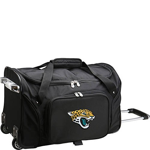 NFL 22'' Rolling Duffel Jacksonville Jaguars by TableTop King