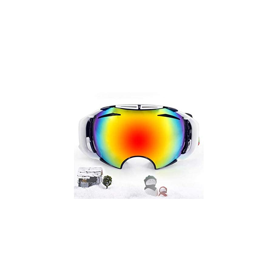 He yanjing Ski Goggles, Snowboarding Goggle Anti Fog UV Protection, Ski Goggles for Men and Women, Winter Adult ski Equipment