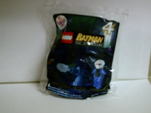 2008 McDonald's Happy Meal Lego Batman The Videogame- Mr.Freeze w/ Ice Blast #4