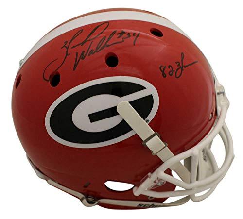 Herschel Walker Autographed/Signed Georgia Bulldogs Replica Helmet Heisman BAS