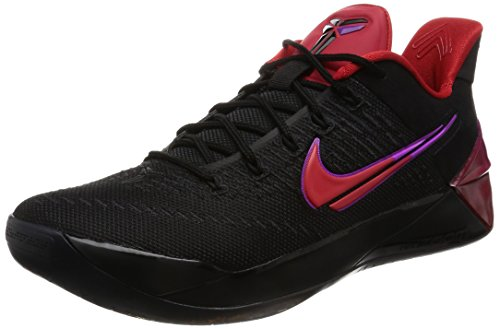 Nike Men's Kobe A.d, Blackuniversity Red, 9.5 M Us