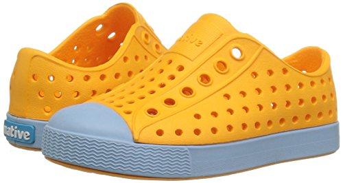 Native Kids Jefferson Water Proof Shoes, Marigold Orange/Sky Blue, 5 Medium US Big Kid by Native Shoes (Image #6)