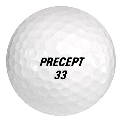 132 Bridgestone Precept Laddie Extreme - Mint (AAAAA) Grade - Recycled (Used) Golf Balls