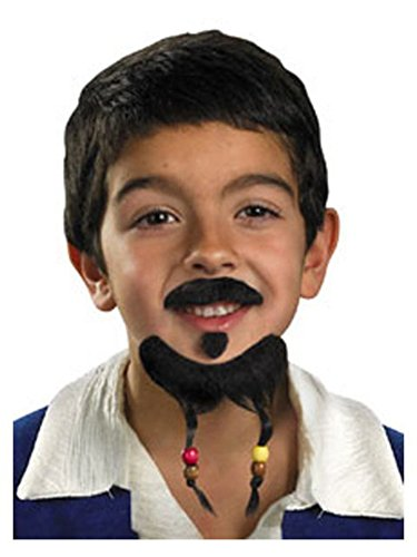Pirates of the Caribbean Goatee and Moustache (Jack Sparrow Boys Costume)