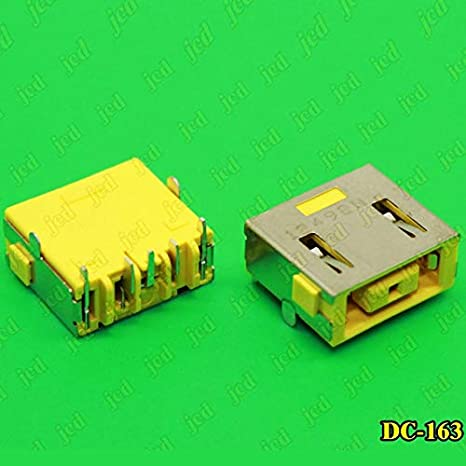Cable Length: DC-174 ShineBear 1X DC Power Jack Connector for Lenovo G400 G490 G500 G505 Z501 DC Jack 5pin OGA 13 X1 Carbon Yellow Square Port