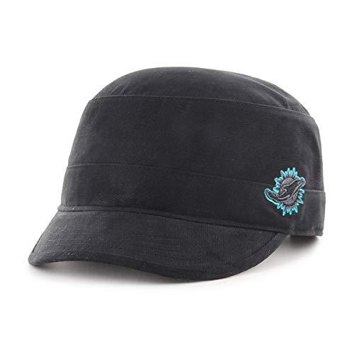 - OTS NFL Miami Dolphins Female Shipmate Cadet Military-Style Adjustable Hat, Black, Women's