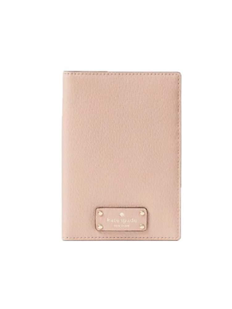 Kate Spade New York Grove Street Imogene Leather Passport Holder Card Case Warm Vellum by Kate Spade New York