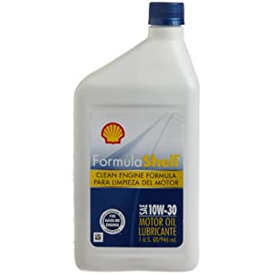 FormulaShell 550024081-12PK SAE 10W-30 Motor Oil - 1 Quart, (Pack of 12)