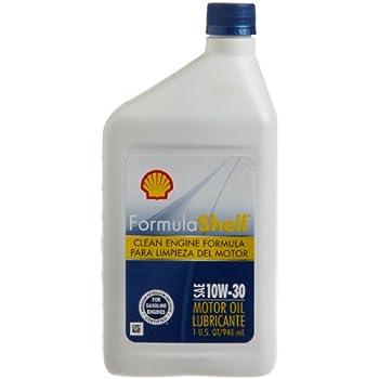 Formula shell 10w30 oil quart automotive for Formula shell motor oil