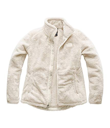 The North Face Women's Osito 2 Jacket - Vintage White & Peyote Beige Stripe - S