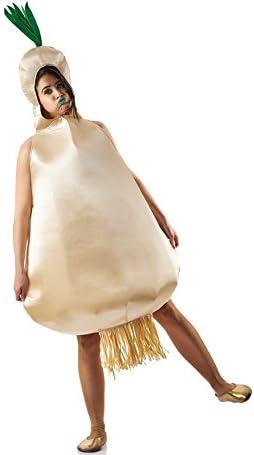 El Rey del Carnaval Disfraz de Cebolla para Mujer: Amazon.es ...