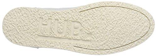 Hub Buckie Washed Canvas - Zapatos de cordones derby Mujer Azul - Blau (ice flow/wht 068)