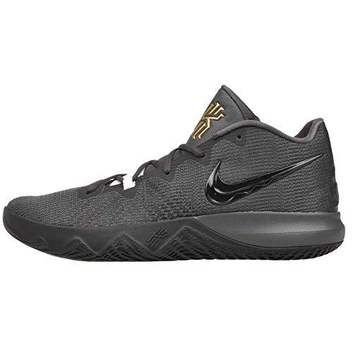 newest e0354 105e5 Nike Men s Kyrie Flytrap Anthracite Black Metallic Gold Size 10.5 M US