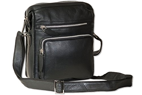 Bolsa suave de en Rimbaldi clase alta calidad negro napa de lujo de de Twwdq4