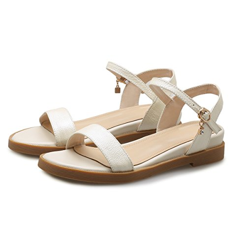 White Rice Peep MEI Toe a Tacco Cuneo amp;S Donna Sandali qqw1zxSF