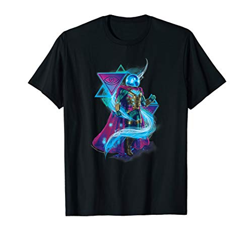 Marvel Spider-Man Far From Home Mysterio Neon Swirl T-Shirt ()