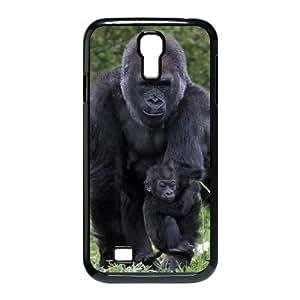 FLYBAI Gorilla Phone Case For Samsung Galaxy S4 i9500 [Pattern-1]